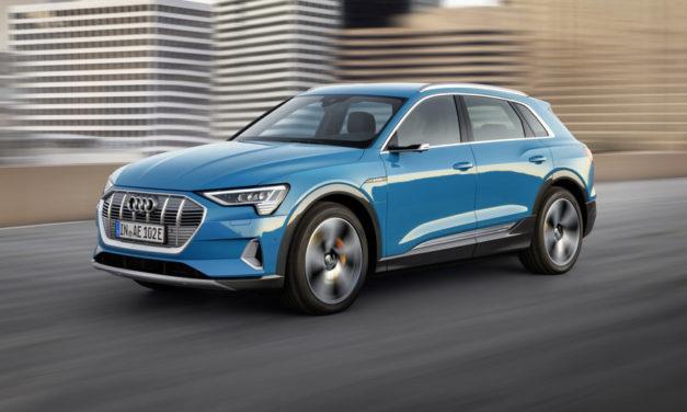 Audi e-tron começa a rodar no Brasil