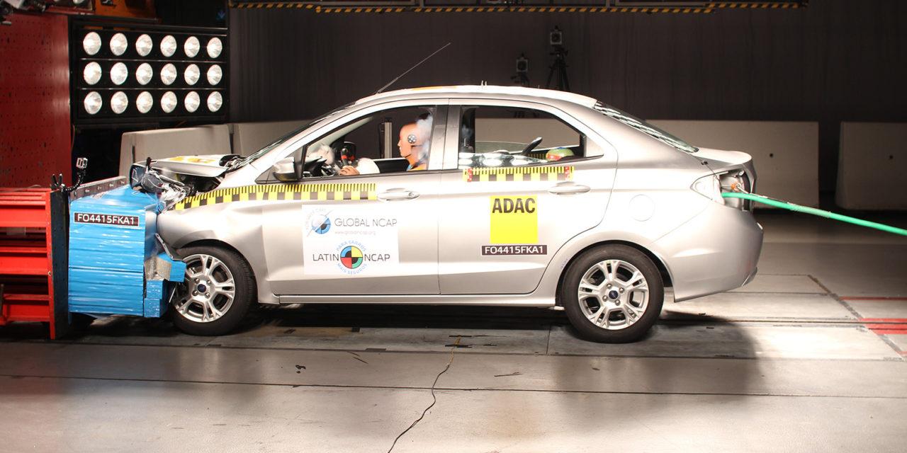 Ford Ka evolui em segurança nos testes da Latin NCAP