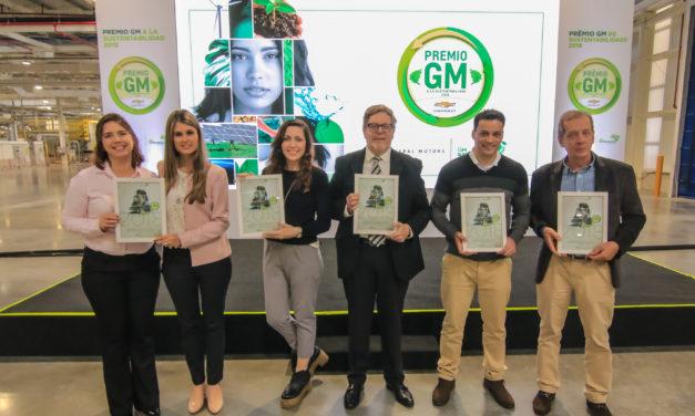 Os vencedores do Prêmio GM de Sustentabilidade