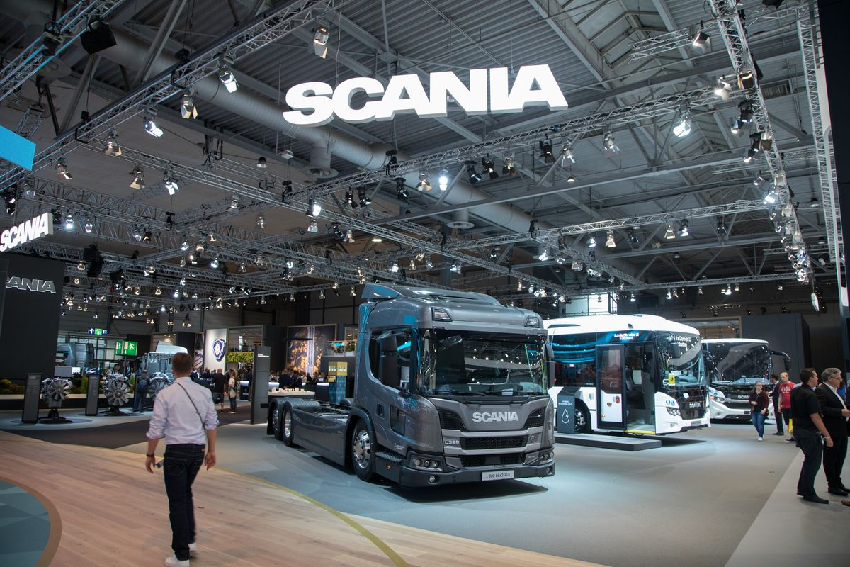 Scania em alinhamento sustentável