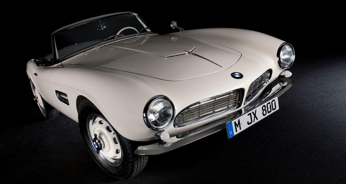BMW 507 que foi de Elvis Presley