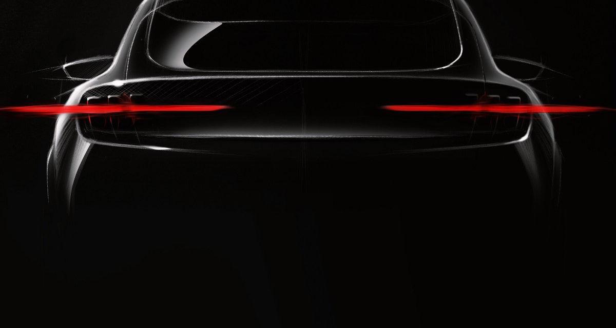 Ford divulga imagem de SUV elétrico inspirado no Mustang