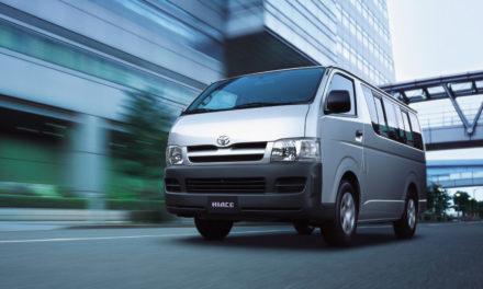 Van Hiace pode ser opção da Toyota para o Brasil