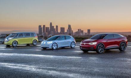 Grupo Volkswagen quer 10 milhões de elétricos sobre a plataforma MEB