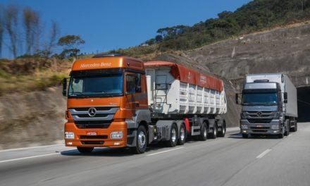 Mercedes-Benz lidera venda de pesados