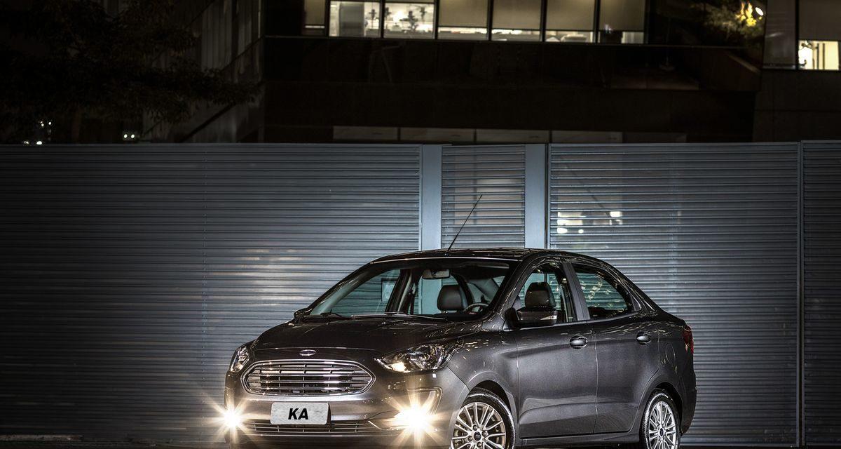 Ford Ka Sedan: discrição bem-acertada.