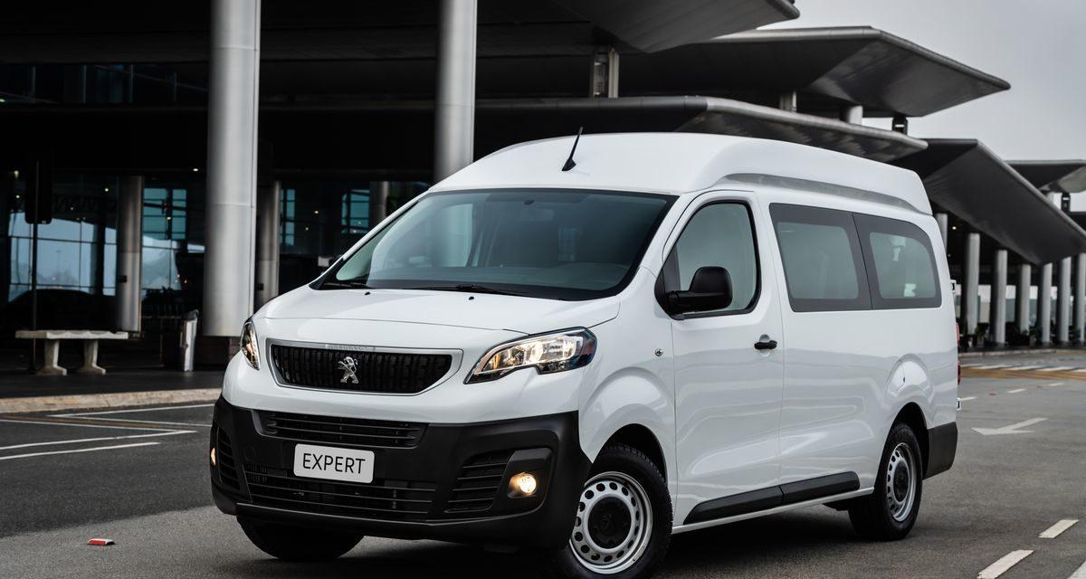 Peugeot inicia as vendas do Expert Minibus