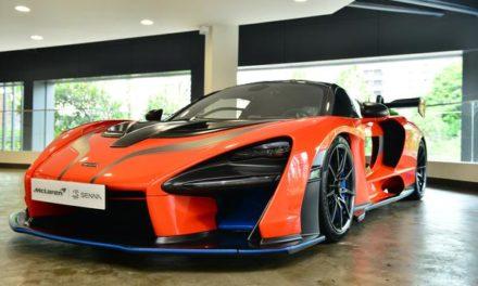 McLaren na vitrine