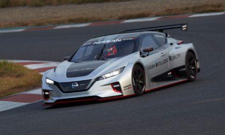 Nissan revela novo carro elétrico de corrida