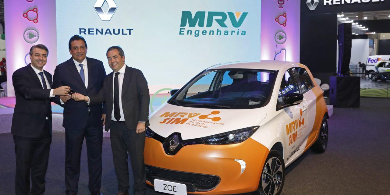 Parceria da Renault e MRV em prol da mobilidade elétrica