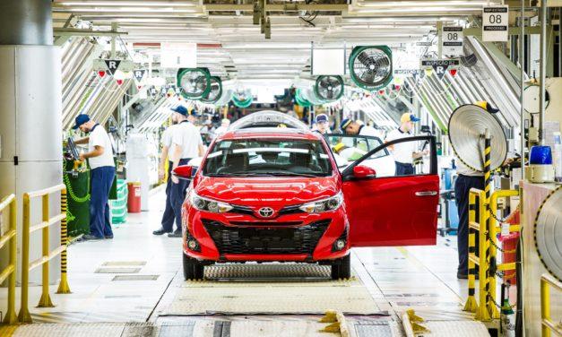 Toyota reduz quadro de mão de obra em Sorocaba
