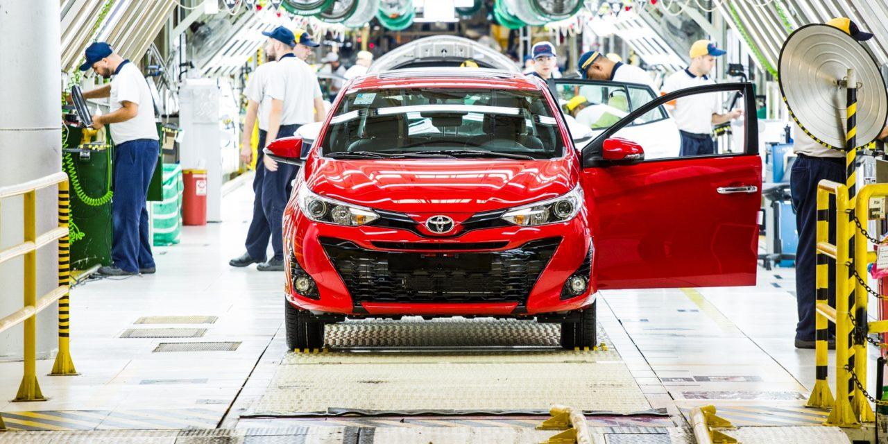 Toyota já opera em três turnos em Sorocaba e Porto Feliz