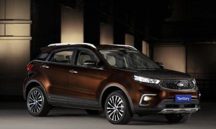 Ford mostra SUV conceito Territory e abre pré-venda do Edge ST