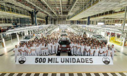 FCA celebra 500 mil unidades produzidas em Pernambuco