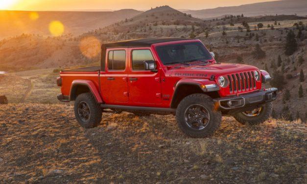 Confirmada para o Brasil, picape Gladiator lustrará imagem da Jeep