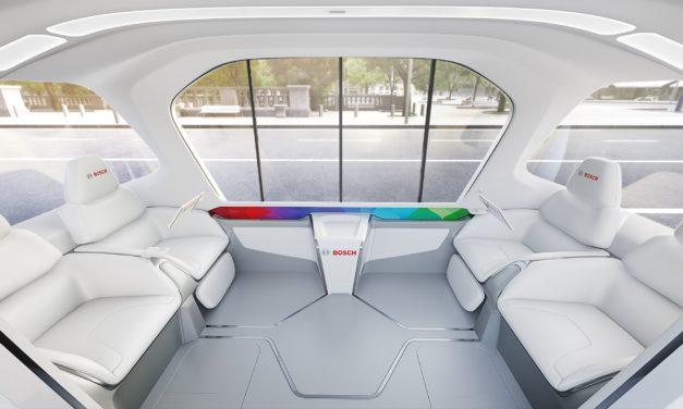 Micro-ônibus apresenta tecnologias Bosch na CES