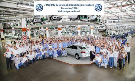VW Taubaté soma 7 milhões de veículos produzidos