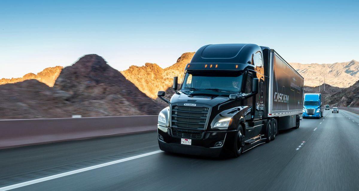 Daimler Trucks: € 500 milhões para caminhões automatizados.