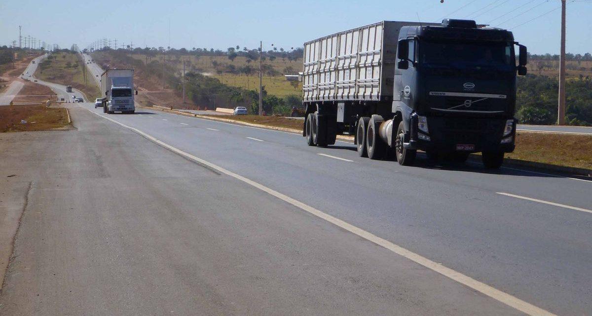 Nível da demanda por transporte de carga se aproxima do início da crise