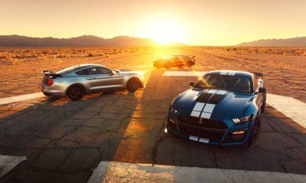 Ford mostra o Mustang mais potente já produzido