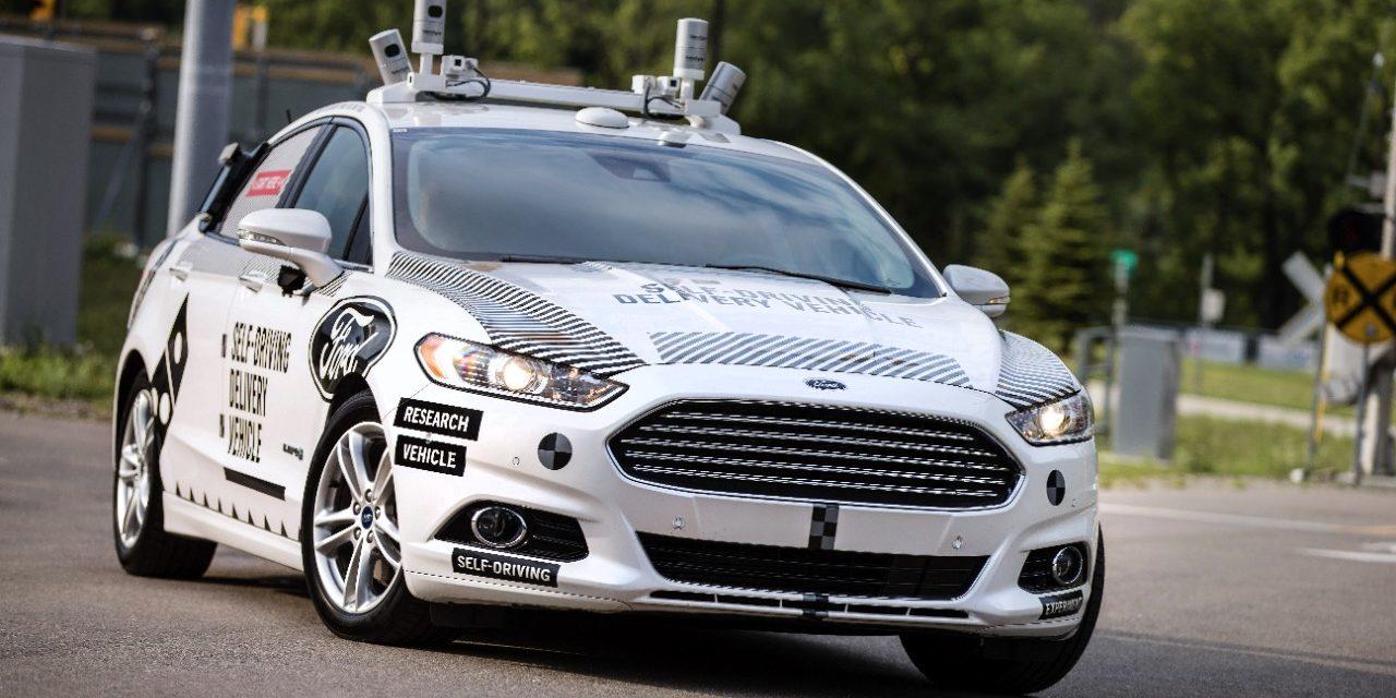 Autônomos da Ford estarão nas ruas em 2021
