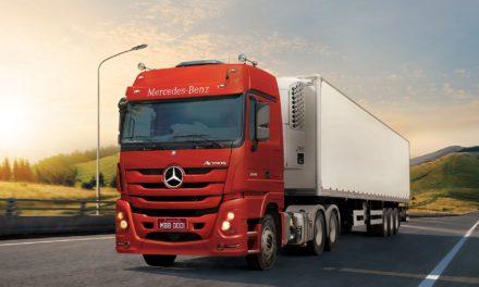 Recall envolve 7,8 mil caminhões Actros