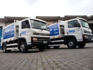 VWCO Delivery 11.180 - caminhão de lixo