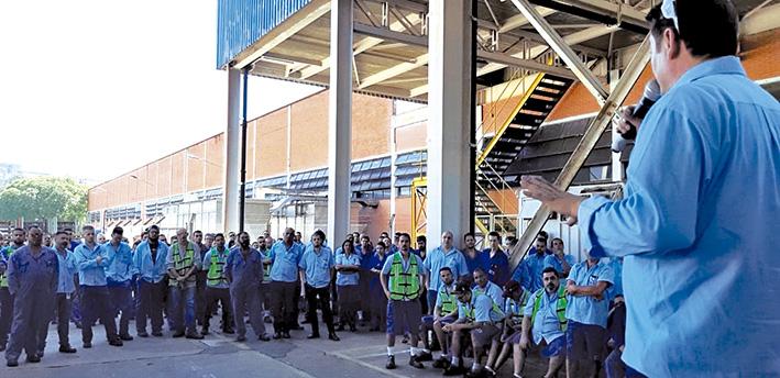 Sindicato dos Metalúrgicos do ABC manifesta revolta com decisão da Ford