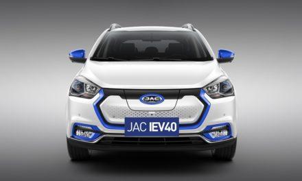 JAC inicia pré-venda de SUV elétrico