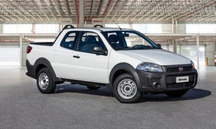 Strada e Toro sustentam Fiat na terceira colocação