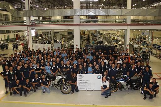 BMW inicia a produção da F 850 GS Adventure em Manaus