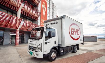 Caminhões elétricos da BYD chegam à Europa