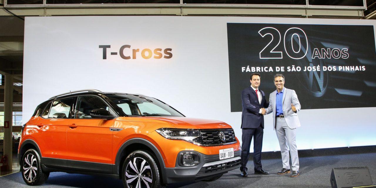 T-Cross brasileiro será exportado para Ásia e África
