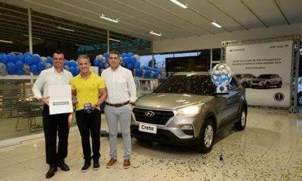 Hyundai Creta atinge 100 mil emplacamentos