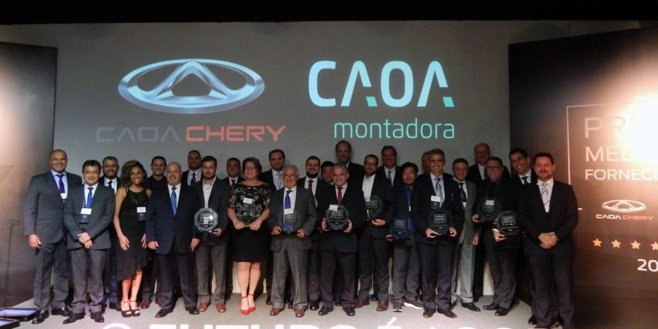 Caoa premia os melhores fornecedores de 2018