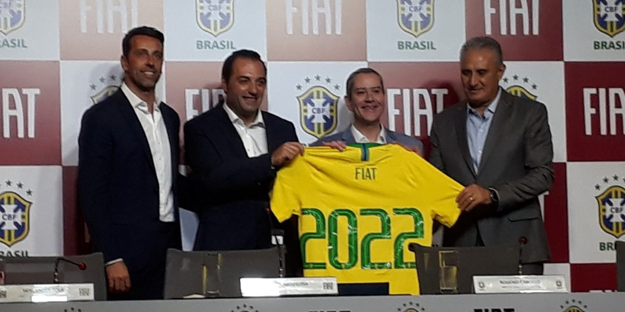 Fiat é a nova patrocinadora do futebol brasileiro