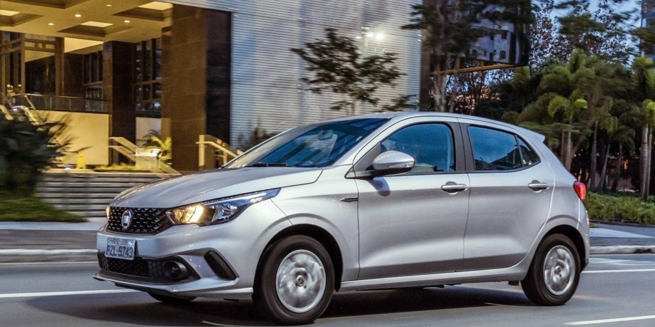 Fiat Argo ultrapassa Hyundai HB20 em novembro