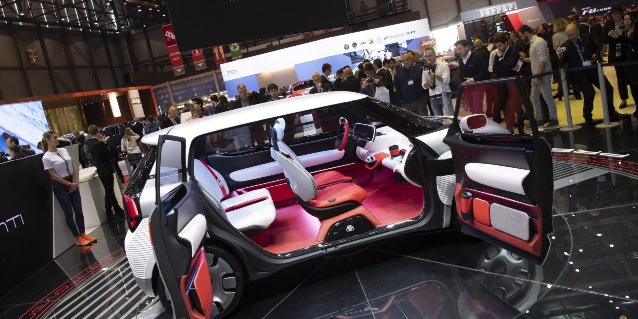 Centoventi, o conceito elétrico da Fiat em Genebra