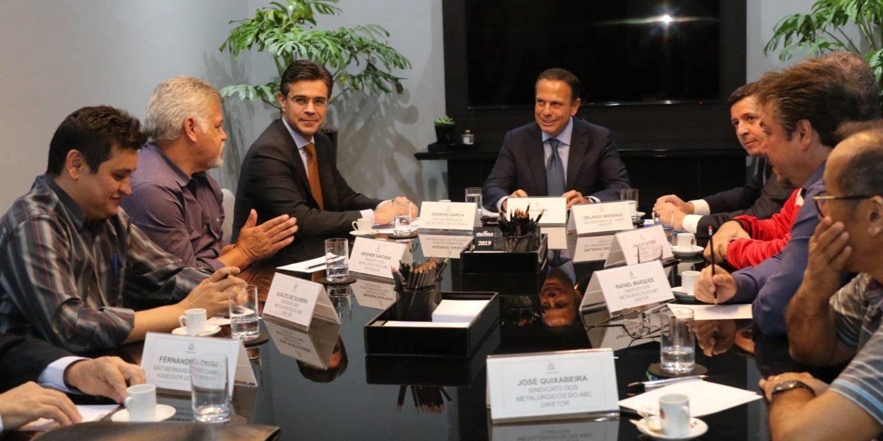Negociações para a venda da Ford avançam, diz Doria ao Sindicato