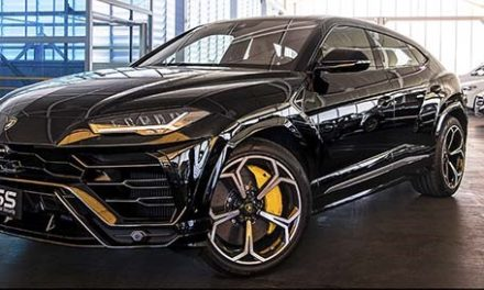 BSS blinda duas unidades do Lamborghini Urus