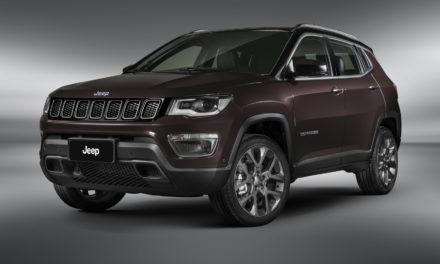 Jeep Compass ganha série especial S por R$ 188 mil