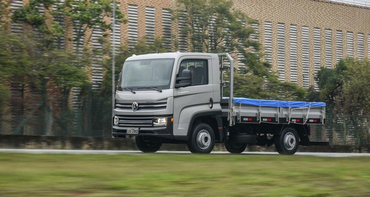 VW Delivery Express toma a liderança do segmento de 3,5 toneladas