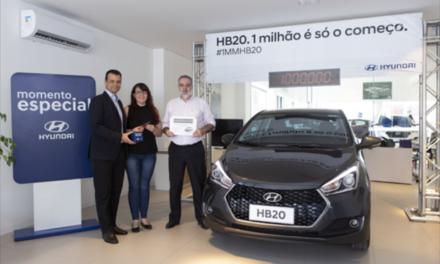 HB20 atinge 1  milhão de unidades vendidas