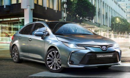 Toyota anunciará Corolla como primeiro híbrido flex