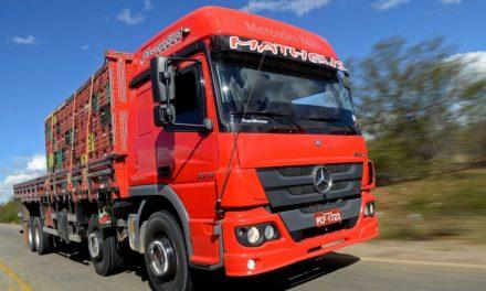 Mercedes-Benz Atego tem nova opção de câmbio manual