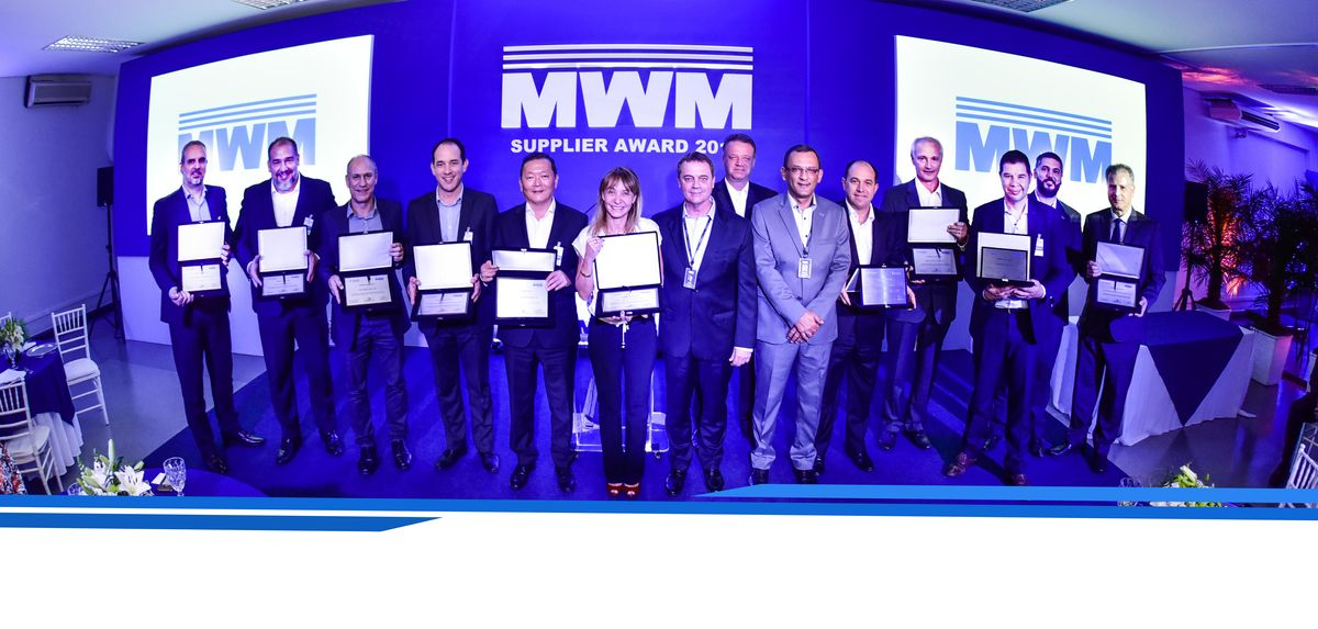MWM reconhece os melhores fornecedores