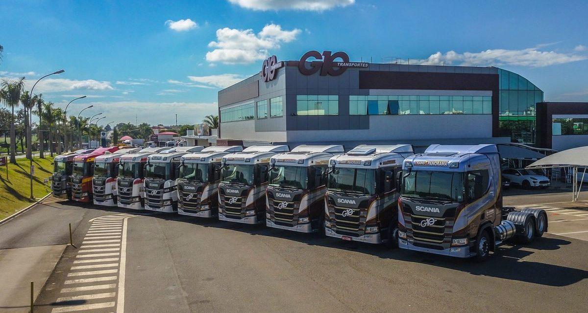 G10 adquire 300 caminhões Scania