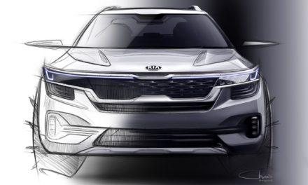 As primeiras imagens do novo SUV compacto da Kia