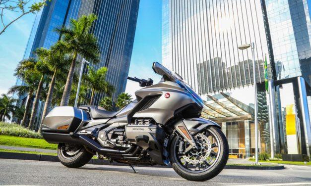 Honda GL 1800 Gold Wing chega à rede de concessionárias