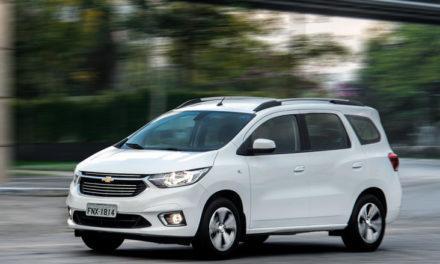 Chevrolet Spin faz seu próprio mercado